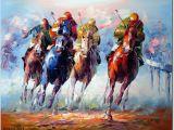 Horse Racing Wall Murals Equine Artists