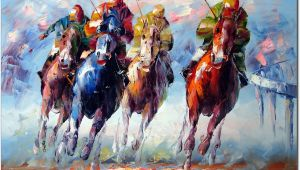 Horse Racing Wall Murals Equine Artists