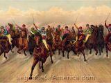 Horse Racing Wall Murals Gallery Cowboys & Trailblazers Horse Racing 1888 Horse