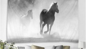 Horse themed Wall Murals Horse Print Tapestry Wall Hanging Art Decor In 2019