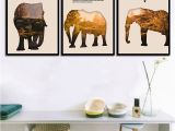 Horse themed Wall Murals Us $1 93 Off Modern A4 Prints Mountain forest Animal Silhouette Painting Bedroom Elephant Wall Art nordic Canvas Poster Home Decor In