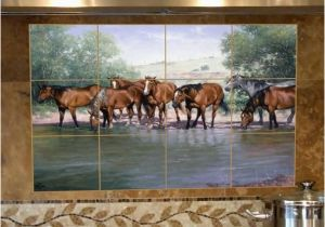 Horse Tile Murals Another Idea for A Kitchen or Bathroom Backsplash these Tiles are