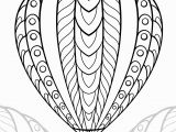 Hot Air Balloon Coloring Page for Adults Hot Air Balloon Coloring Pages for Adults – Learning How