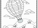 Hot Air Balloon Coloring Page for Adults Printable Hot Air Balloon Coloring Page for Adults Pdf Jpg