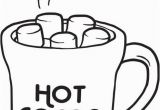 Hot Cocoa Coloring Page Free Hot Chocolate Clipart