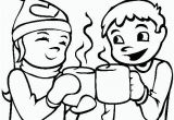 Hot Cocoa Coloring Page Pin by Ubbsi On Colouring Pages