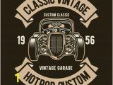 Hot Rod Garage Wall Murals Hotrod Custom Vector