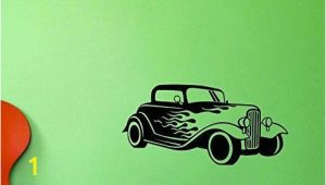 Hot Rod Wall Murals Design with Vinyl top Selling Decals Hot Rod Wall Art