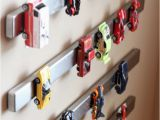 Hot Wheels Wall Mural Kid S Room Storage Hack Magnet the Hot Wheels to the Wall and Stop