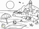 Household Items Coloring Pages Coloring Pages Summer Season Pictures for Kids Drawing Free
