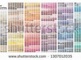 How Do I Print A Color Test Page Color Table Pantone Of the Fashion Home and Interiors