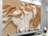 How Much to Charge for A Wall Mural High Quality Custom Wallpaper 3d Stereo Embossed Horse Living Room Tv Backdrop Wall Mural Art Painting Mural Wall Paper Phone Wallpapers