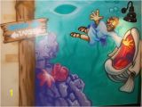 How to Airbrush Wall Murals Retta Baptist Church Airbrush Design & Muraling