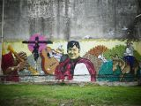 How to Do A Mural On A Wall File Otro Mural En Unquillo Wikimedia Mons