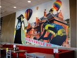 How to Do A Mural On A Wall Statesville Mural On Wall Picture Of Hardee S Statesville