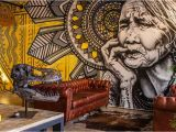 How to Do Mural Painting On Wall Dakato Lee Tattoo Studio Wall Murals by Unity Murals
