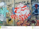 How to Draw Murals On the Wall Colorful Graffiti In Small Street In Plaka athens Editorial
