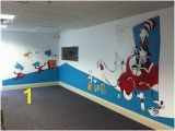 How to Draw Murals On the Wall Mural Cat In the Hat Anthonys Room
