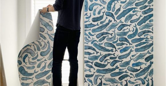 How to Hang A Wall Mural How to Install A Removable Wallpaper Mural