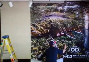 How to Hang A Wall Mural Wall Mural Install