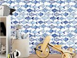 "How to Hang Mural Wallpaper Artgeist Wallpaper Fish 19 3"" X 393 7"" 3d Peel and Stick Self"