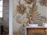 How to Hang Mural Wallpaper Lovely Just My Style Farm House Pinterest