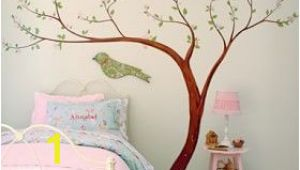 How to Hang Pottery Barn Wall Mural Cherry Blossom Decal Pottery Barn Kids