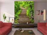 How to Install A Vinyl Wall Mural Sparen Sie Bis Zu 30 3d Leaf Stair 434 Wall Paper Wall