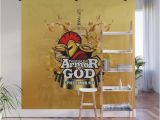 How to Install A Wall Mural Put On the Full Armor Of God Ephesians 6 11 Wall Mural by Michaelpineda