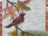 How to Make A Mosaic Wall Mural Cheek Mosaic the Purple Finch Martin Cheek