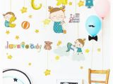 How to Make A Projector for Wall Murals Star Moon Baby Girl Removable Diy Wall Art Mural Sticker