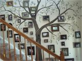 How to Make A Tree Wall Mural Diy Staircase Family Tree Perfect for Making A House Your