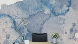 How to Make A Wall Mural at Home Fabulous Creative Backdrop Shown In This Ink Spill Watercolour Wall
