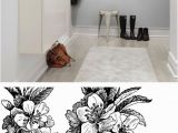 How to Make A Wall Mural at Home Springtime Black&white Home Decor Pinterest