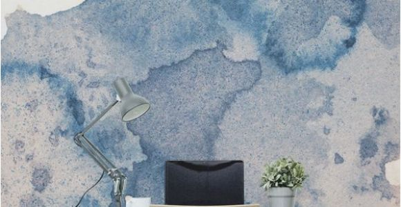 How to Make A Wall Mural Fabulous Creative Backdrop Shown In This Ink Spill Watercolour Wall