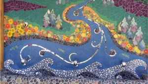 How to Make An Outdoor Mosaic Mural Incredible Mosaic Mural Of the Natural Water Cycle by Passiflora