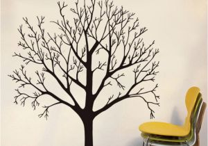 How to Make Murals On Walls 57 X 68cm Big Tree Wall Stickers Removable Living Room Bedroom Wall Decals Luxuriant Trees In Black Brown Wallpaper Poster Home Decor Mural