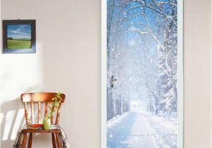 How to Make Wall Murals 2 Pcs Set Door Stickers Wall Stickers Diy Mural Bedroom Home