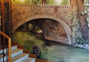 How to Mural Painting Wall Mural Painted by Lilian Peterson