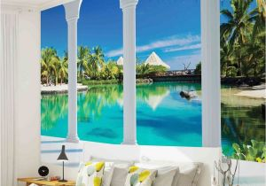 How to Paint A Beach Wall Mural Details About Wall Mural Photo Wallpaper 2357p Beach
