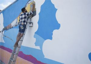 How to Paint A Beach Wall Mural Quick Tips On How to Paint A Wall Mural