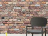 How to Paint A Brick Wall Mural Mixed Brick Square Wall Murals