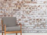 How to Paint A Brick Wall Mural White Paint Brick Square 2 Flat Update