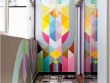 How to Paint A Geometric Wall Mural 25 Dazzling Geometric Walls for the Modern Home