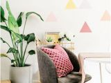 How to Paint A Geometric Wall Mural A Diy Geometric Wall Mural with Behr Paint