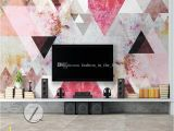 How to Paint A Large Wall Mural 3d nordic Wallpaper Abstract Geometry Wall Mural 3d Wallpaper Vintage Oil Painting Bedroom Ceiling Wall Art Ceiling Room Decor Landscape