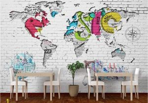 How to Paint A Mural On A Brick Wall Beibehang 3d Wallpaper Art Painting Hand Painted Wall Paper