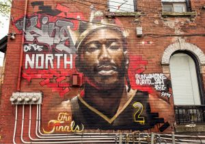 How to Paint A Mural On A Brick Wall toronto Just Got A New Kawhi Leonard Mural