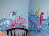 How to Paint A Mural or A Wall Picture Dorisann S Designs Rainbow Fish