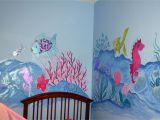 How to Paint A Rainbow Wall Mural Dorisann S Designs Rainbow Fish